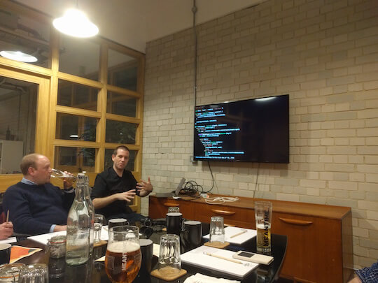 Tom S talking about React
