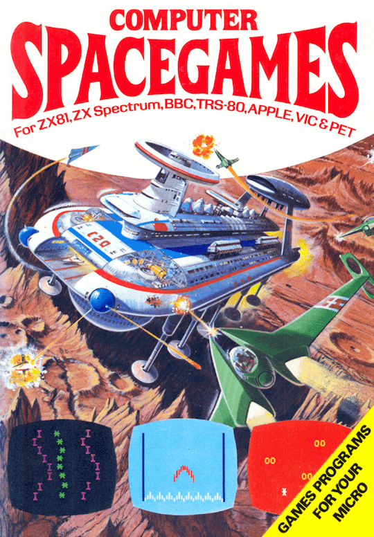 Computer Spacegames book