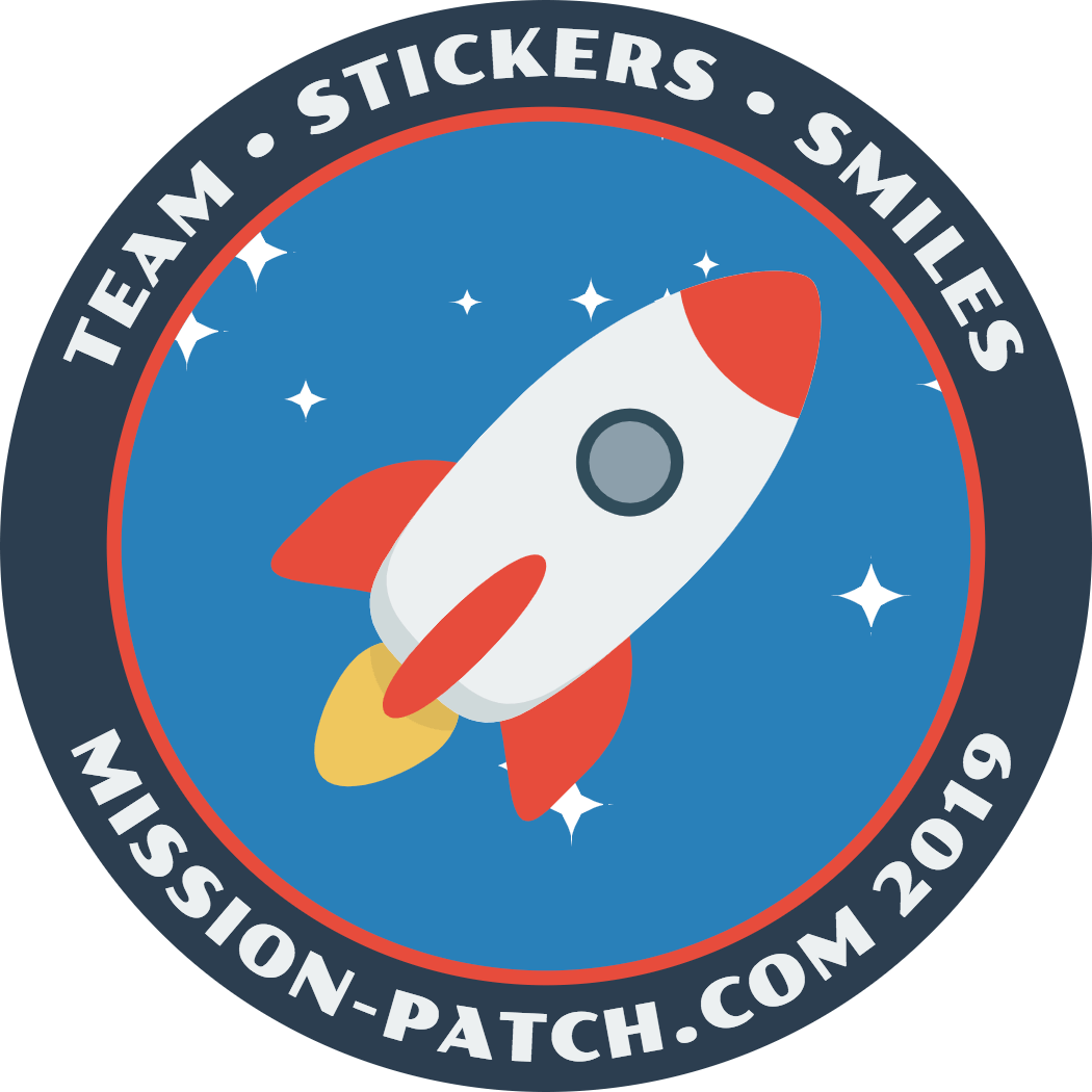 Mission Patch rocket example