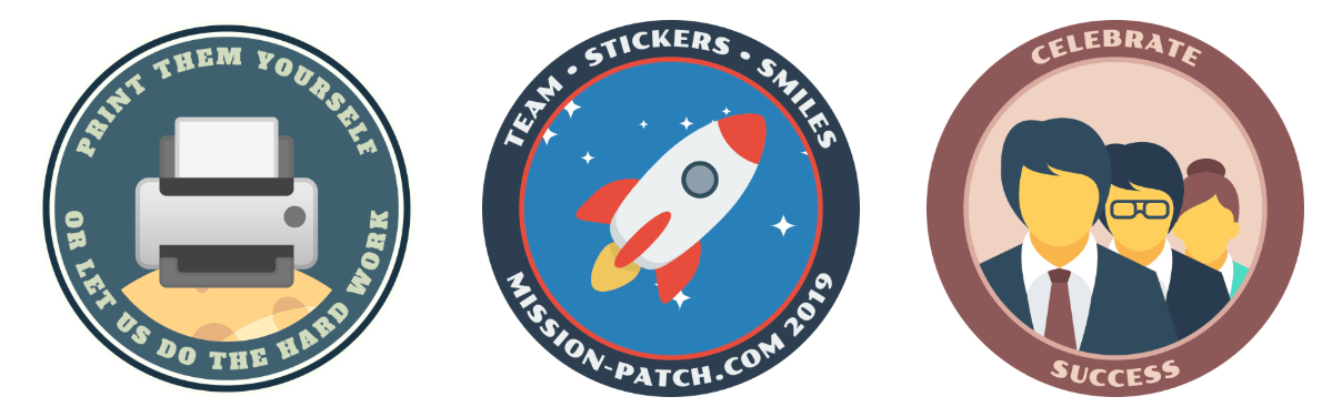 Mission Patch samples