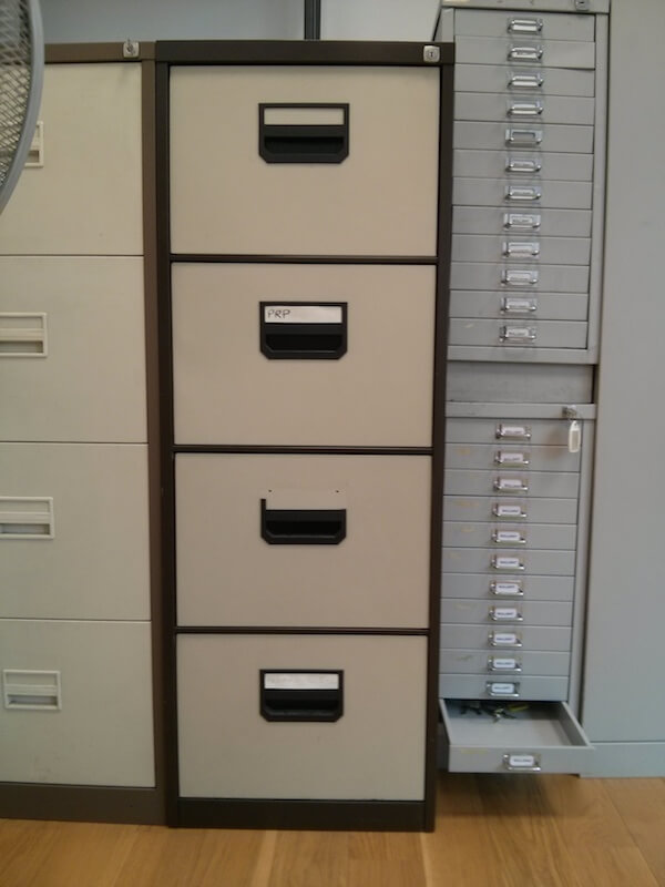 Lockable filing cabinets